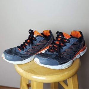 Fila grey orange sneakers men's size 9